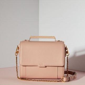 ELISE MINI SATCHEL BAG PINK