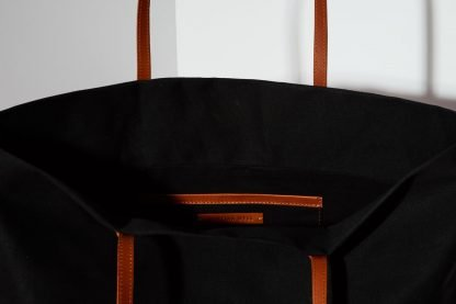 JOYCE BLACK TOTE BAG