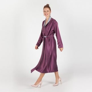 MYKAFTAN SILVER AMETHYST ROBE SLOW FASHION