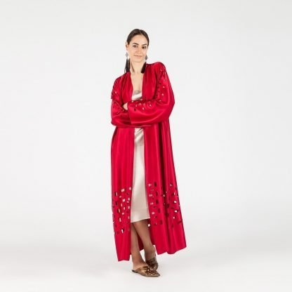 MYKAFTAN INVINCIBLE RED KAFTAN SLOW FASHION
