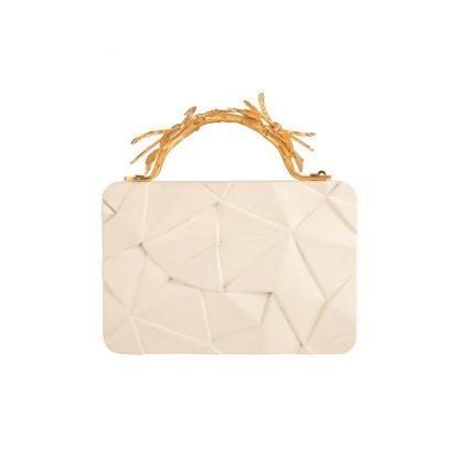 ASYMMETRY WOODEN CLUTCH DUET LUXURY SLOW AND SUSTAINABLE FASHION