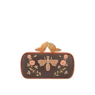 QUEEN BEE BUTTERFLY CLUTCH