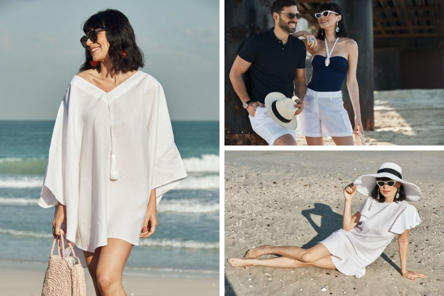 WHITE LINEN CLOTHES SUSTAINABLE FASHION