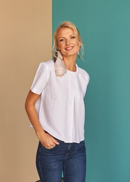 Corynne Linen Blouse Sustainable Fashion