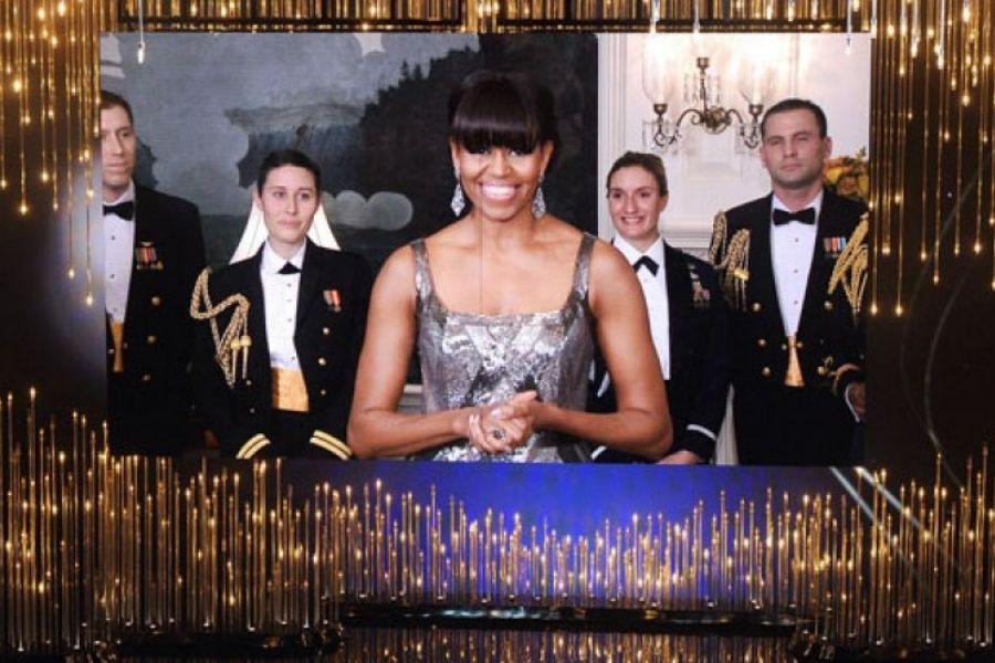 Michelle Obama 2013 Oscars