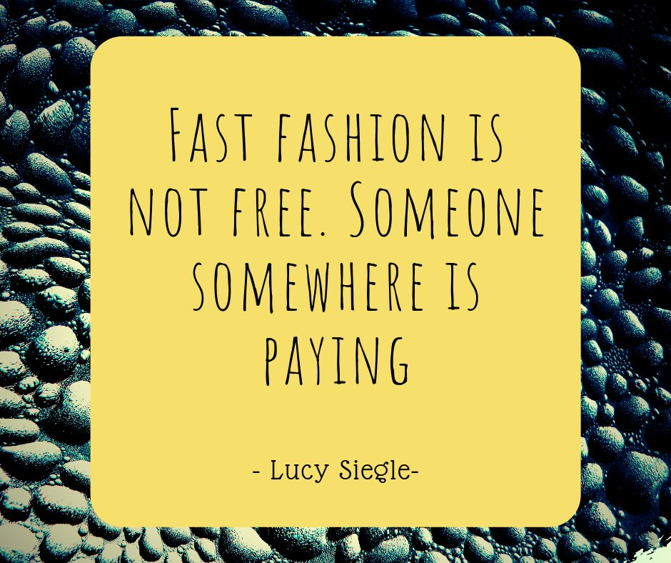1 out of 50 quotes on Sustainable and Ethical fashion