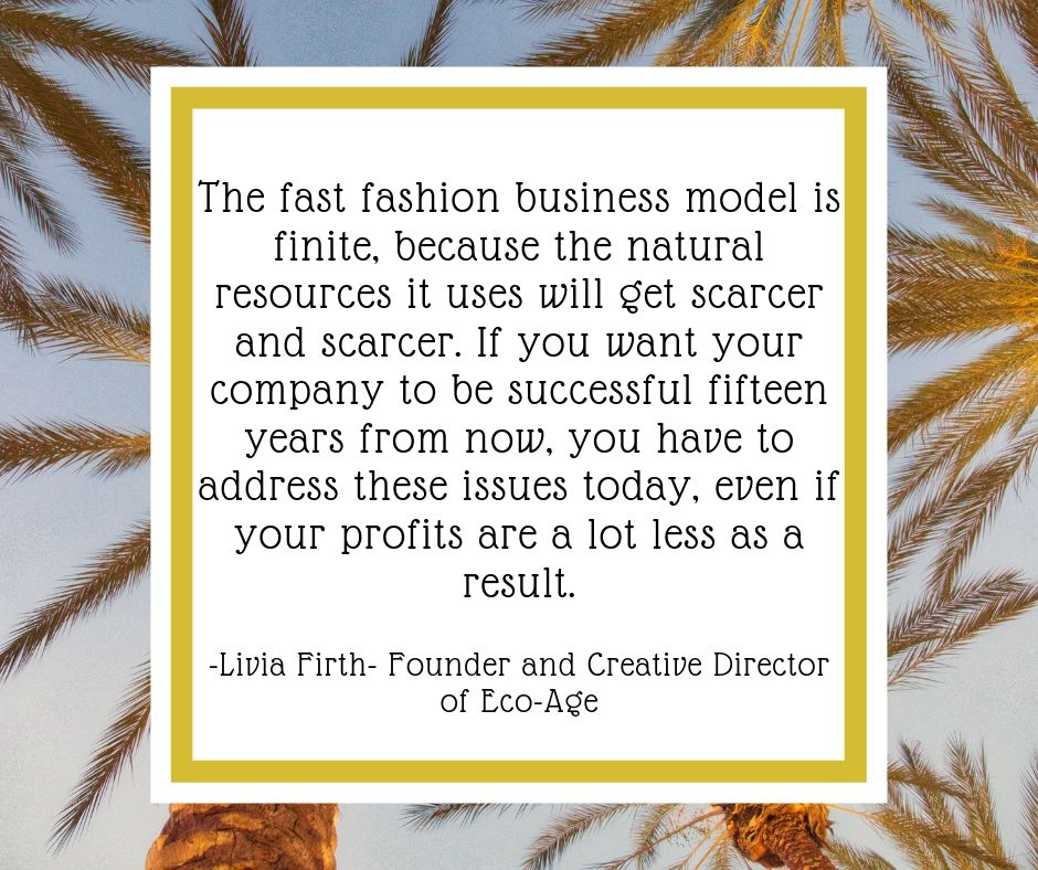 50 QUOTES ON ETHICAL & SUSTAINABLE FASHION