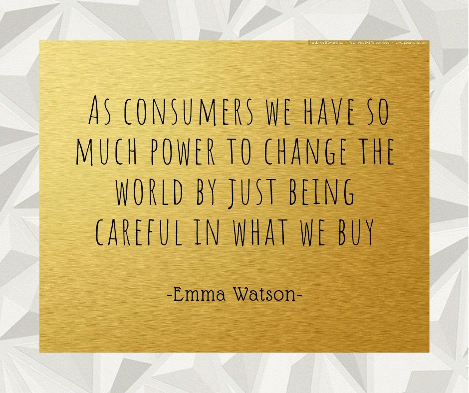 50 QUOTES ON SUSTAINABLE AND ETHICAL FASHION