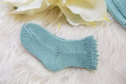 crochet mini socks