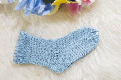 mini socks babyboy blue