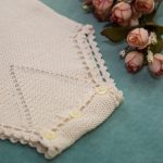 Delicate Crochet Infant Onesie Slow Fashion