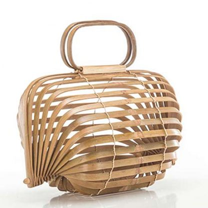 Bamboo Shell Bag Sustainable Fashion