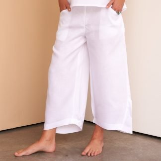 Alya Pants Facil Blanco Dubai Sustainable Fashion