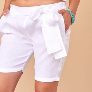 Blanca Shorts Facil Blanco Sustainable Fashion
