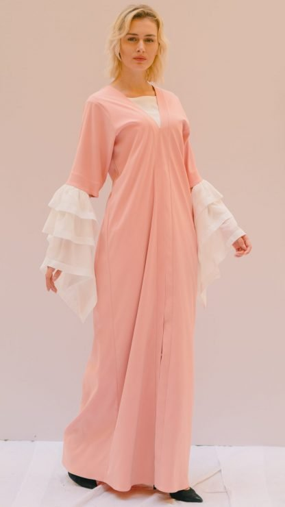 Layered Sleeve Abaya Slow Fashion