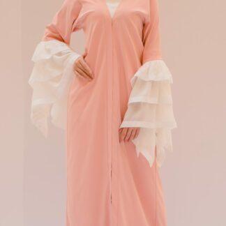 Layered Sleeve Abaya Slow Fashion