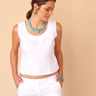 Dyna Top Facil Blanco Sustainable Fashion