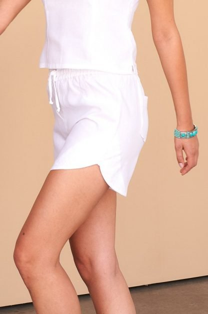 Eva Shorts Facil Blanco Sustainable Fashion