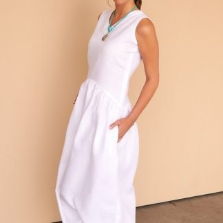 Hana Dress Facil Blanco Sustainable Fashion