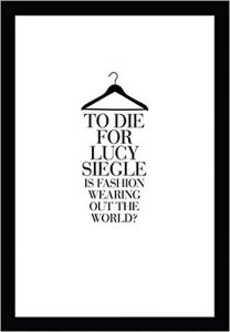 lucy siegle to die for book eco fashion