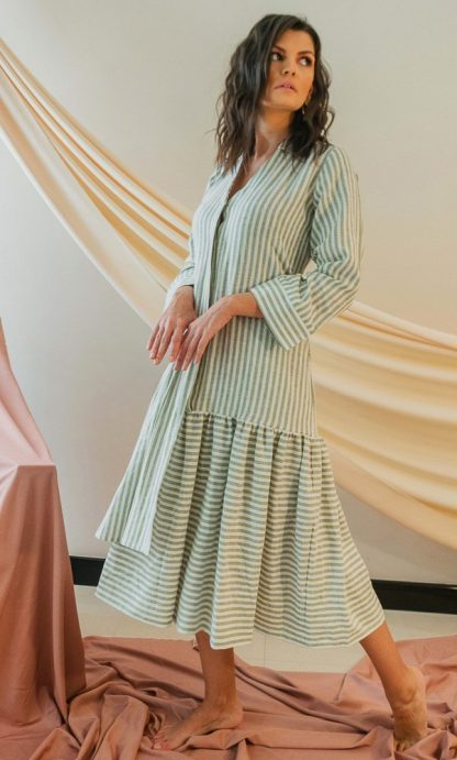 Aurora Midi dress slow fashion