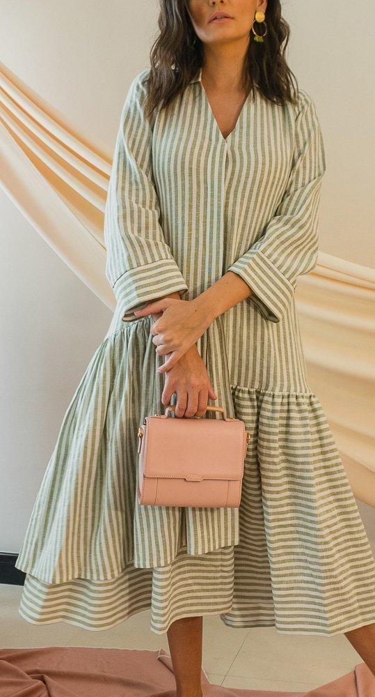 Aurora Midi dress slow fashion