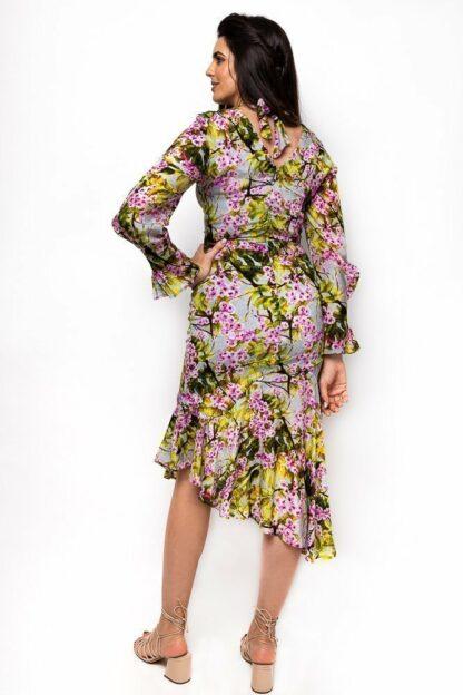 ASYMMETRICAL DRESS BACK