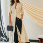 DAPH OFF WHITE TRENC COAT STONE GREY DUBAI SLOW FASHION