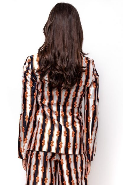 REEF KNOT PRINT JACKET BACK