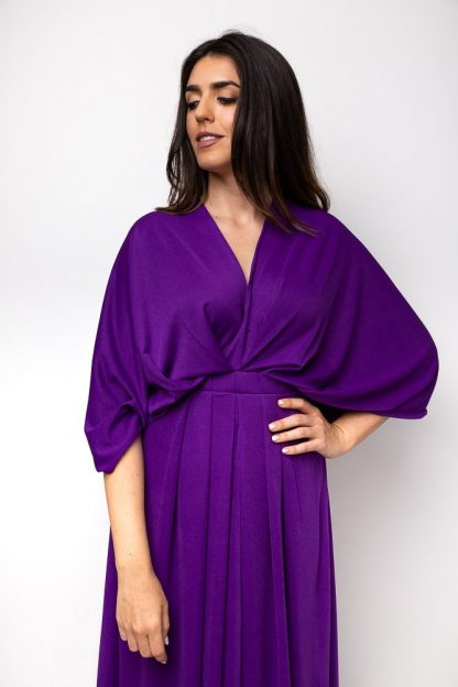 essa walla purple dress