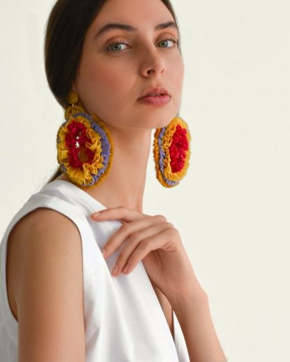 pipa viana raffia earrings sustainable accessories