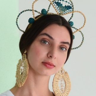 Verbena celeste tiara sustainable fashion
