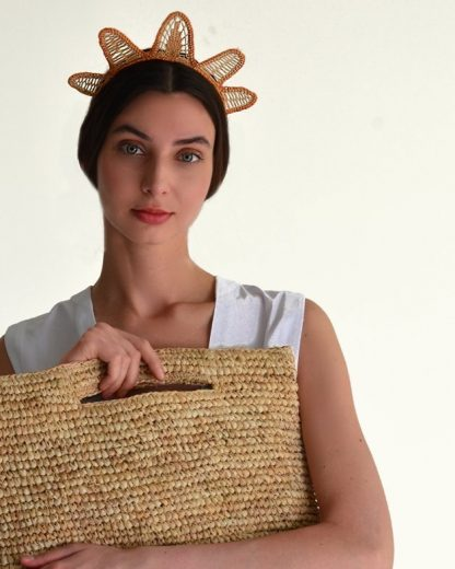 Verbena Estela Tiara Raffia Sustainable