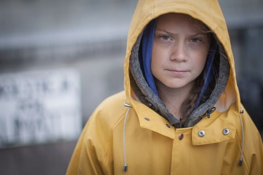 Greta Thunberg´s emotional speech