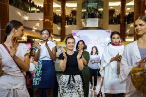 sustainable fashion catwalk