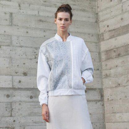 Dvaita Escape Bomber Jacket Bav Tailor Sustainable Fashion
