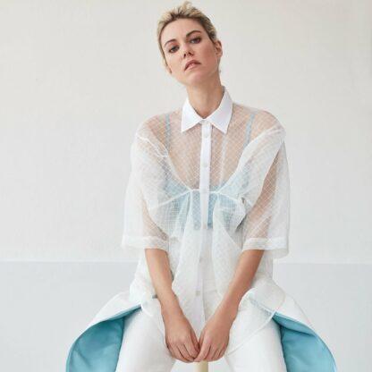 Lokya Lotus Shirt Bav Tailor Goshopia sustainable fashion
