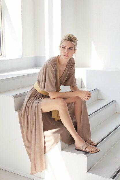 Lokya Mani Wrap Dress Bav Tailor Sustainable Fashion ecoluxury goshopia