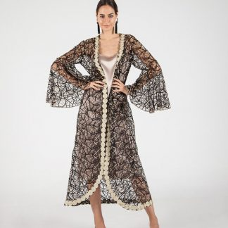 Majestic Gold Kaftan Slow Fashion