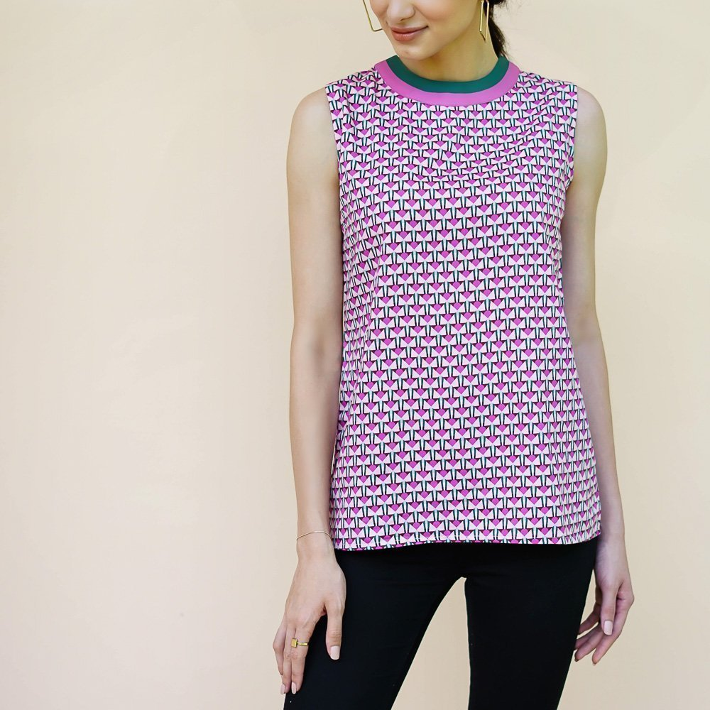 deco blouse vino supraja sustainable fashion