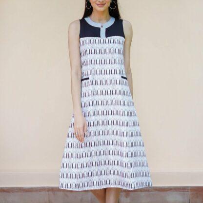 deco smart dress vino supraja sustainable fashion