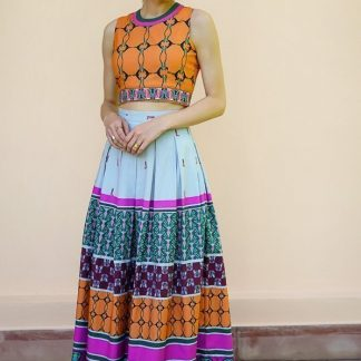 Deco Vibe Long skirt Vino Supraja Sustainable fashion