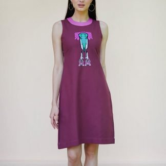 elle dress vino supraja sustainable fashion