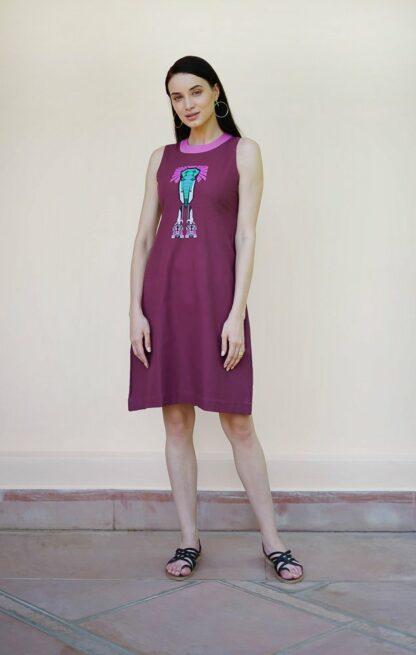 elle dress vino supraja sustainable fashion
