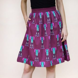 elle skirt vino supraja sustainable fashion