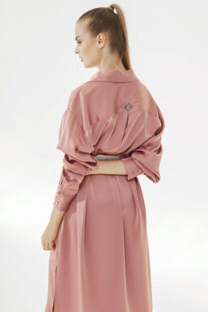 K-Shirt Midi Pink Salt