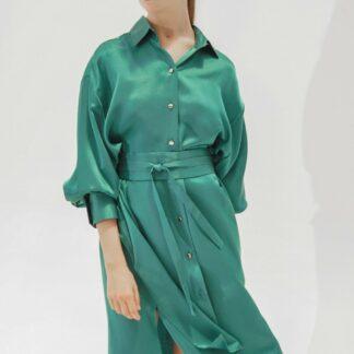 K-Shirt Midi Emerald Green
