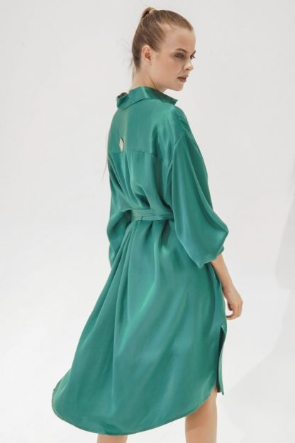 K-Shirt Midi Emerald Green