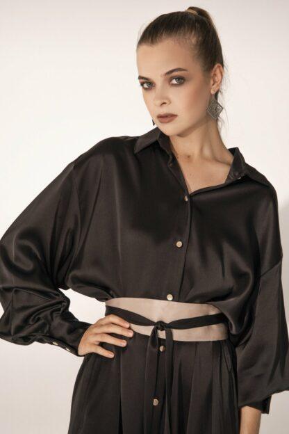 K-Shirt Midi Black