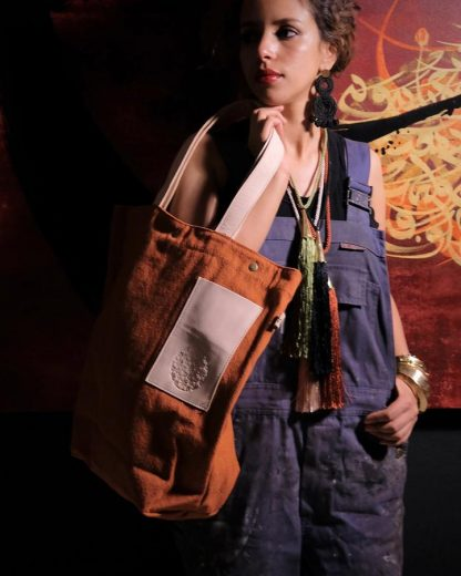 HAMIMI HANDMADE SLOW FASHION HAM030c Kiria Tote - Nous Wanderlust Stories